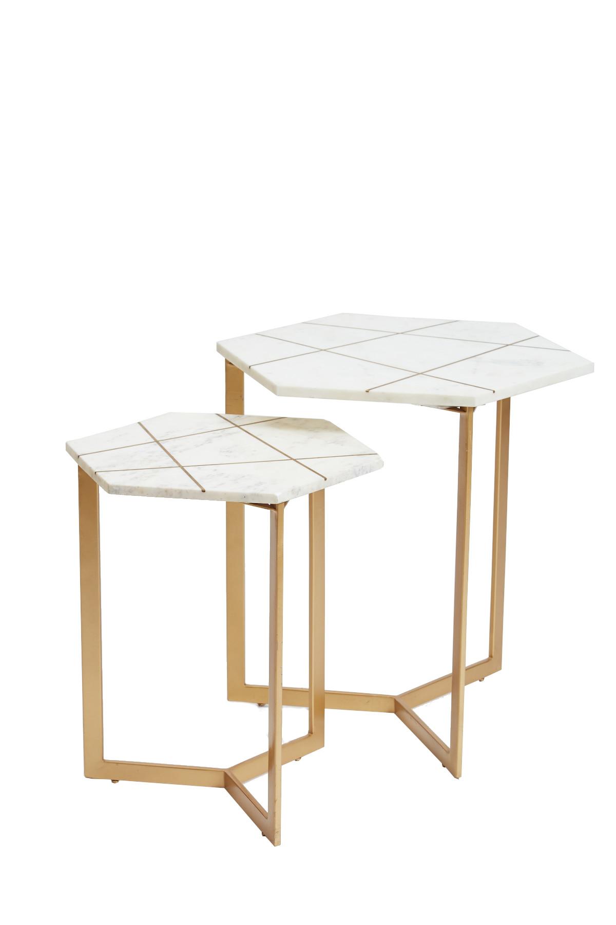 Tiffany Pair of Lamp Tables