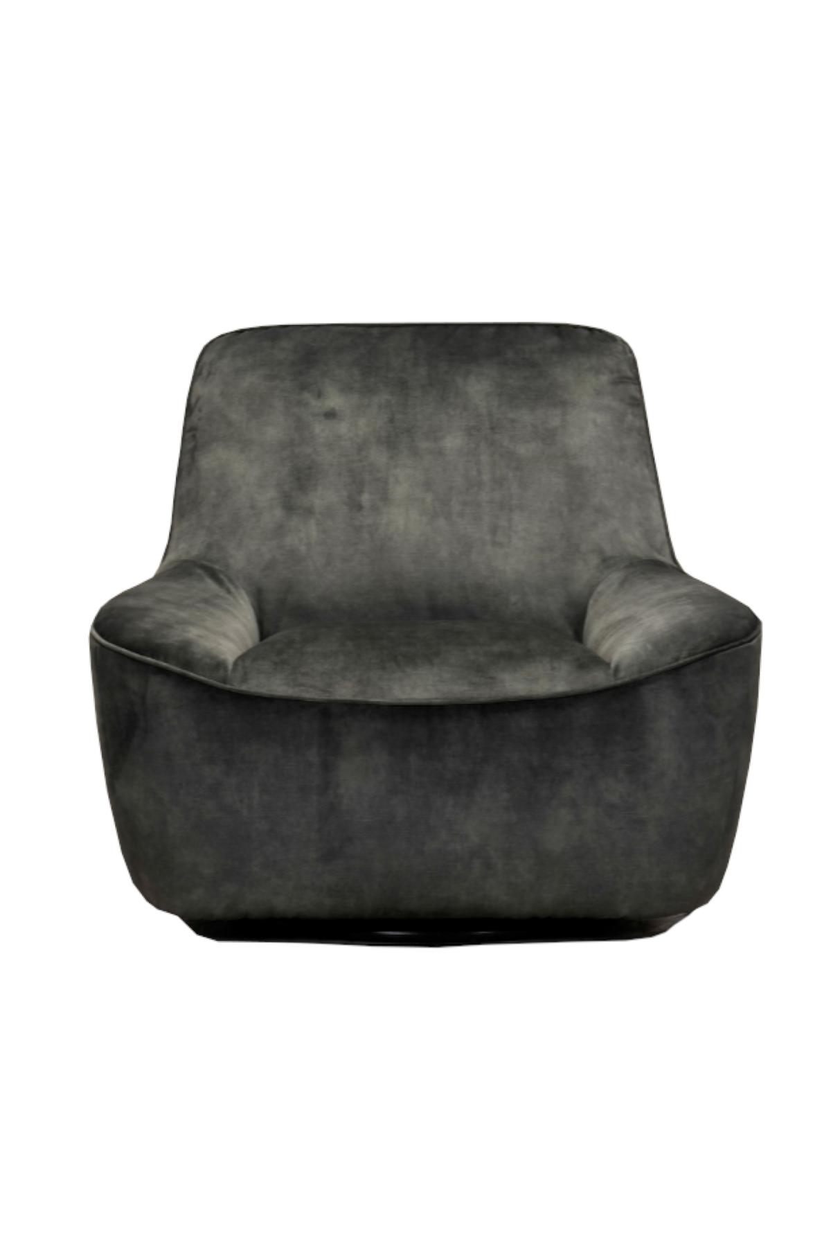 Azura Swivel Chair - Green