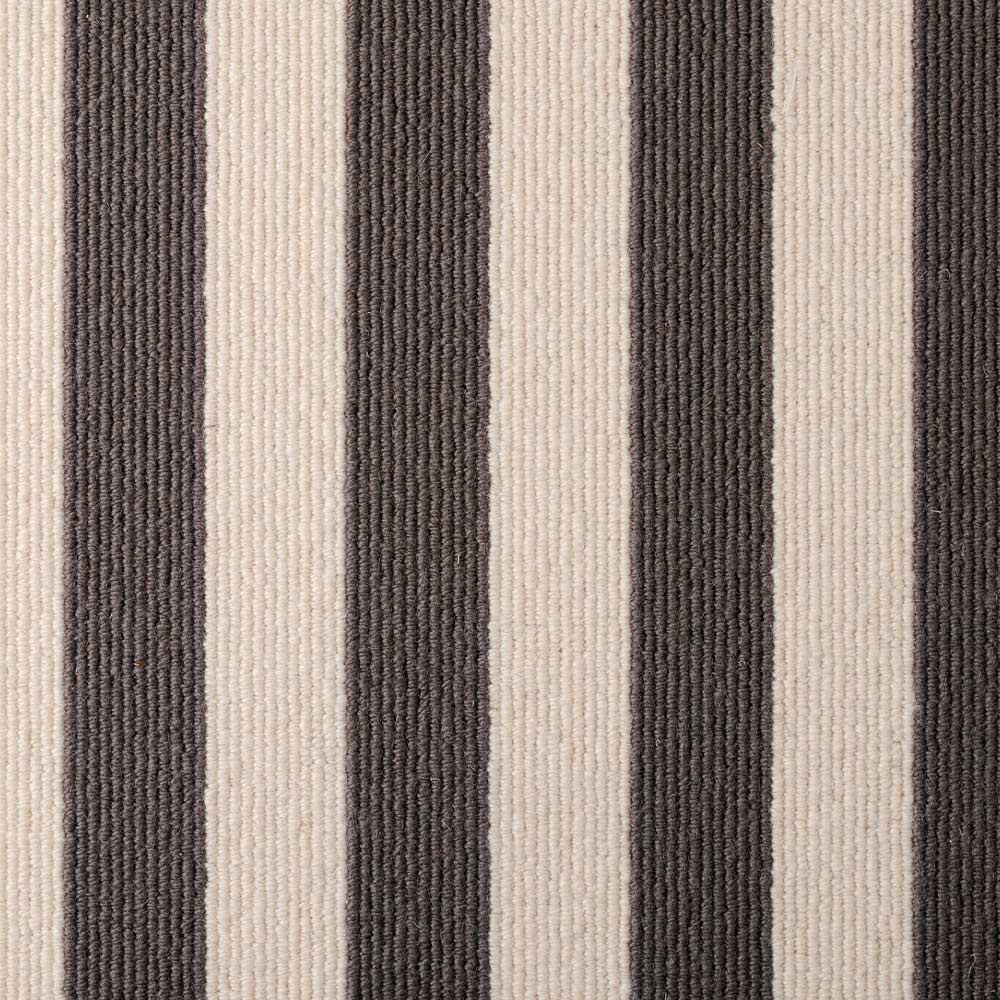 Wool Blocstripe Sable Bone