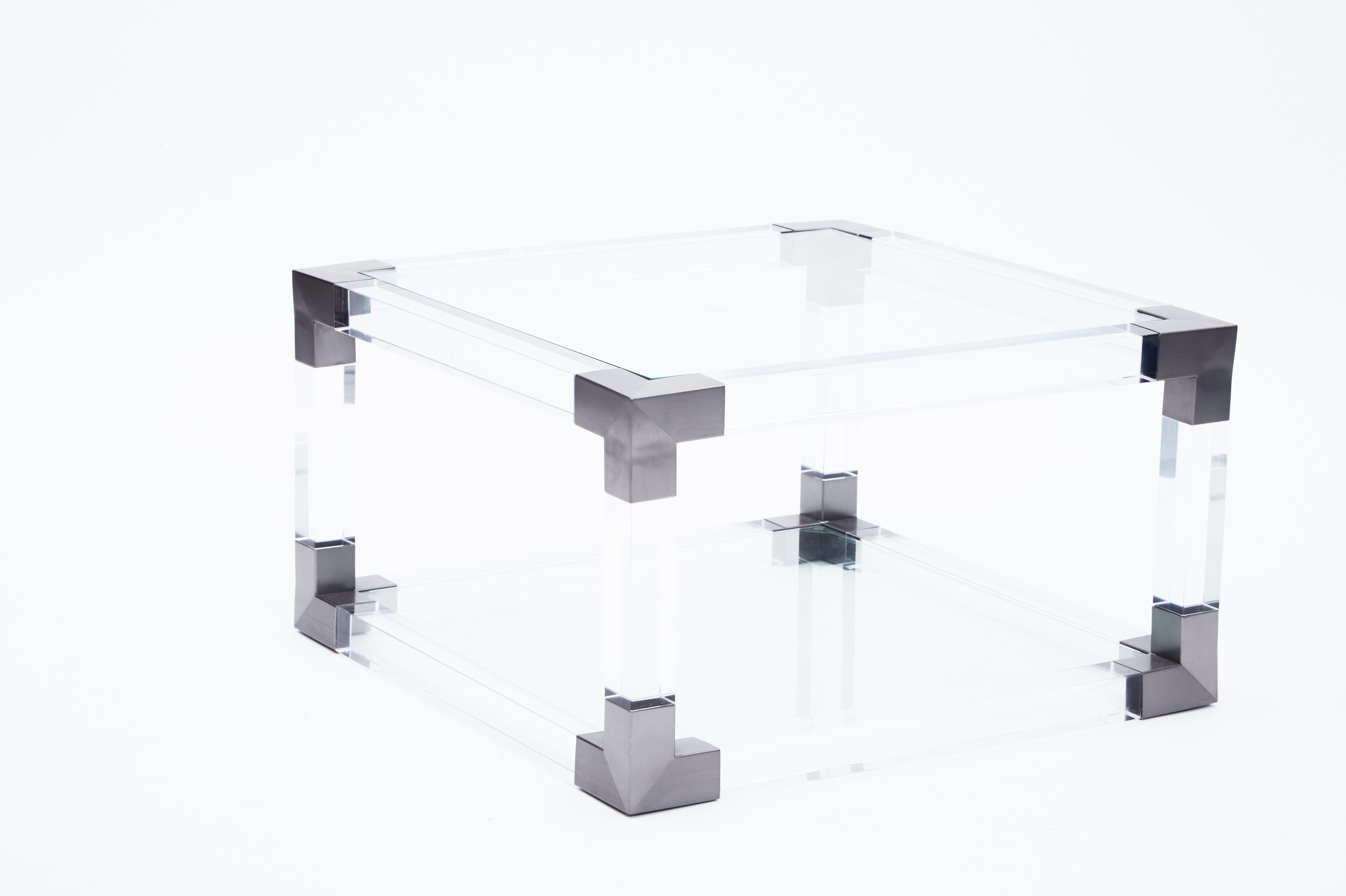 Gun Steel Coffee Table