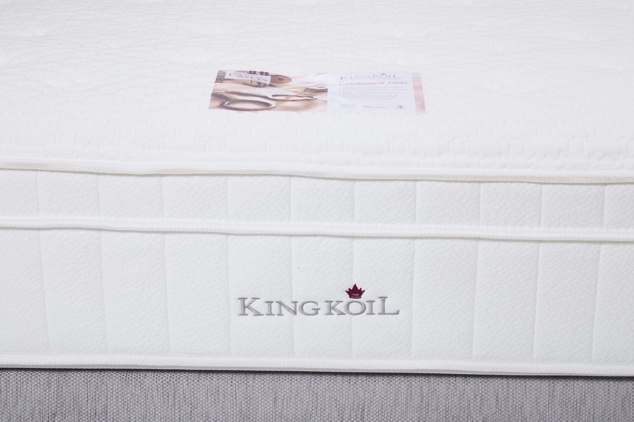 King Koil Celebration 1800 Mattress and Divan