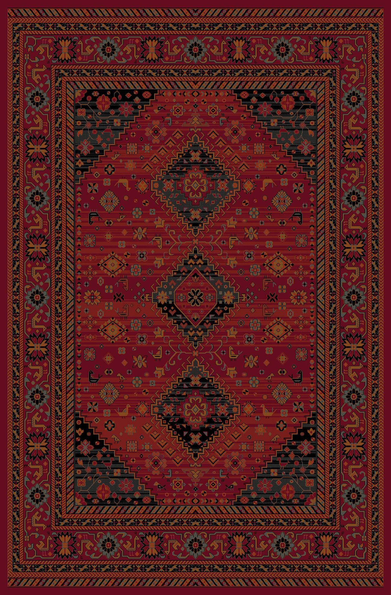 Kashqai Rug 4345 300