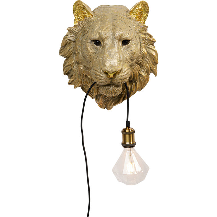 Tiger Head Wall Lamp