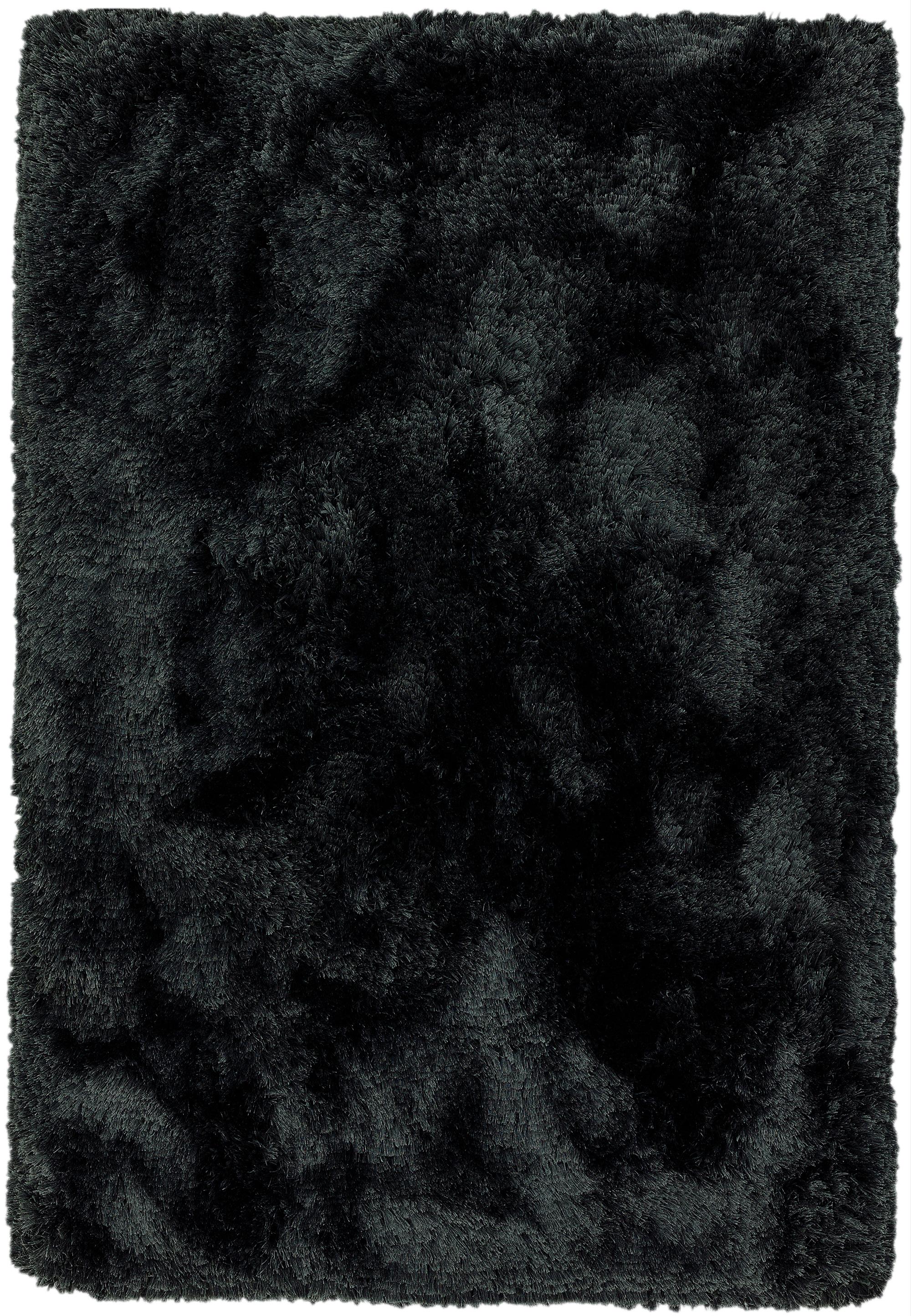 Plush Rug Black