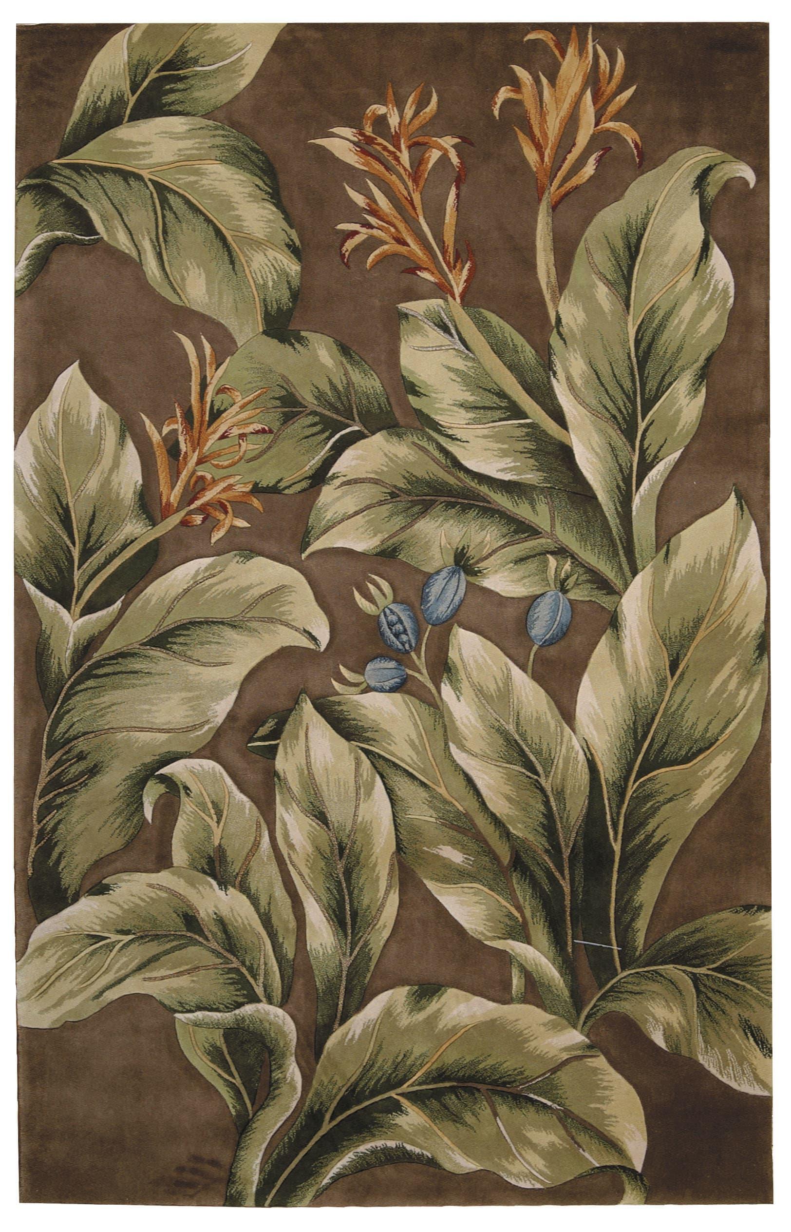 Tropics Rug TS02 Khaki