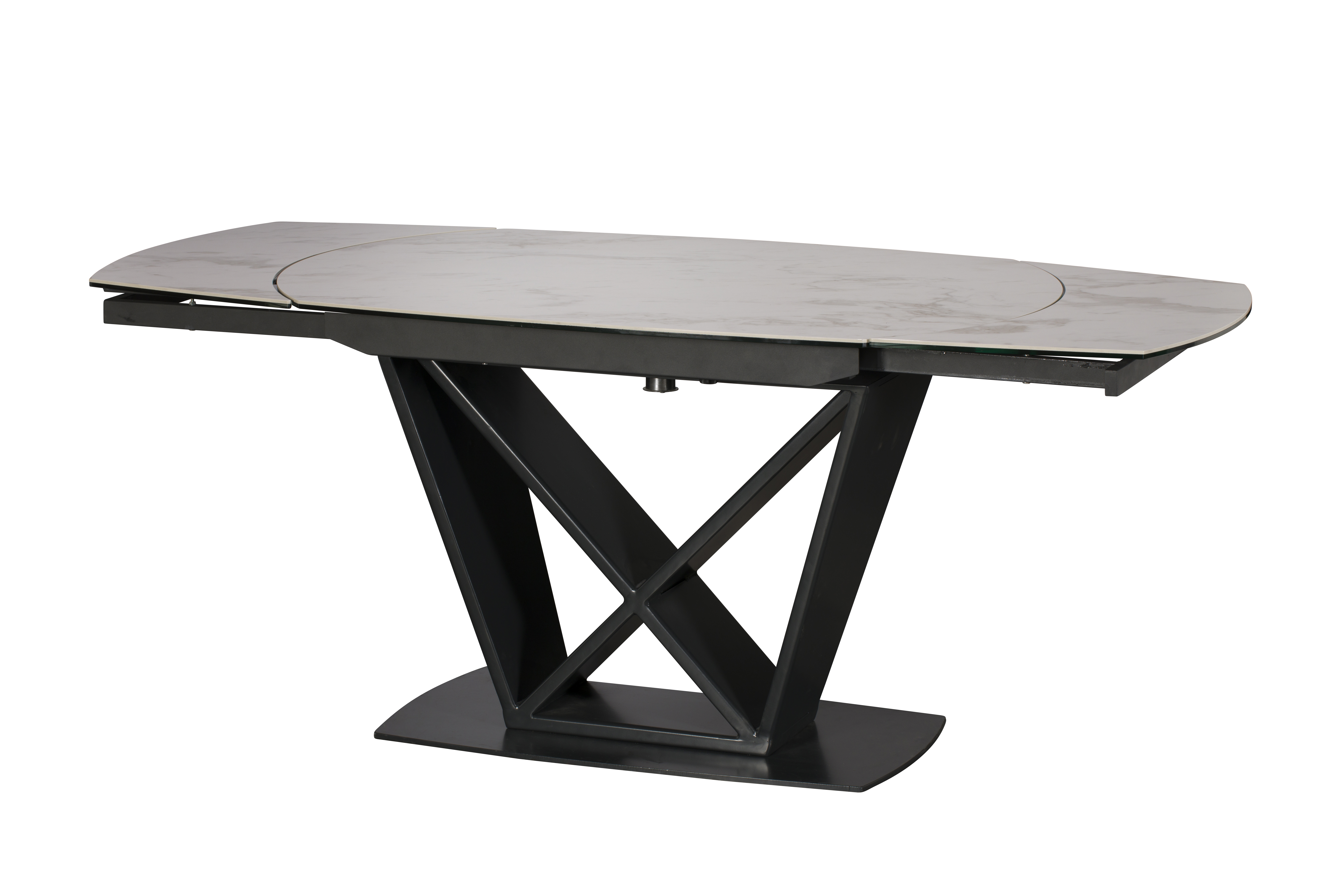 Mateo Rotating Extending Dining Table Small
