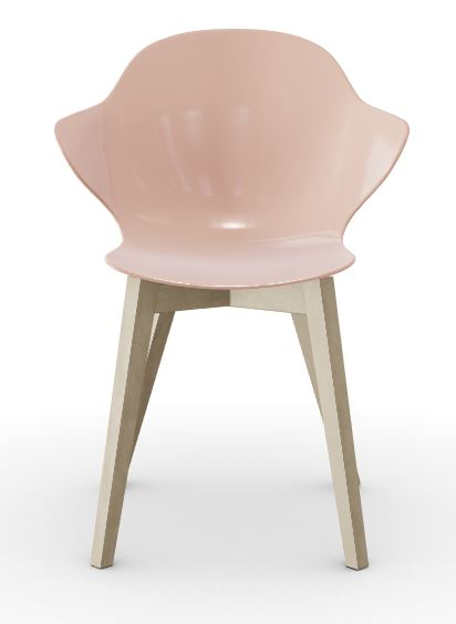 Calligaris St. Tropez Dining Chair - Palle Pink