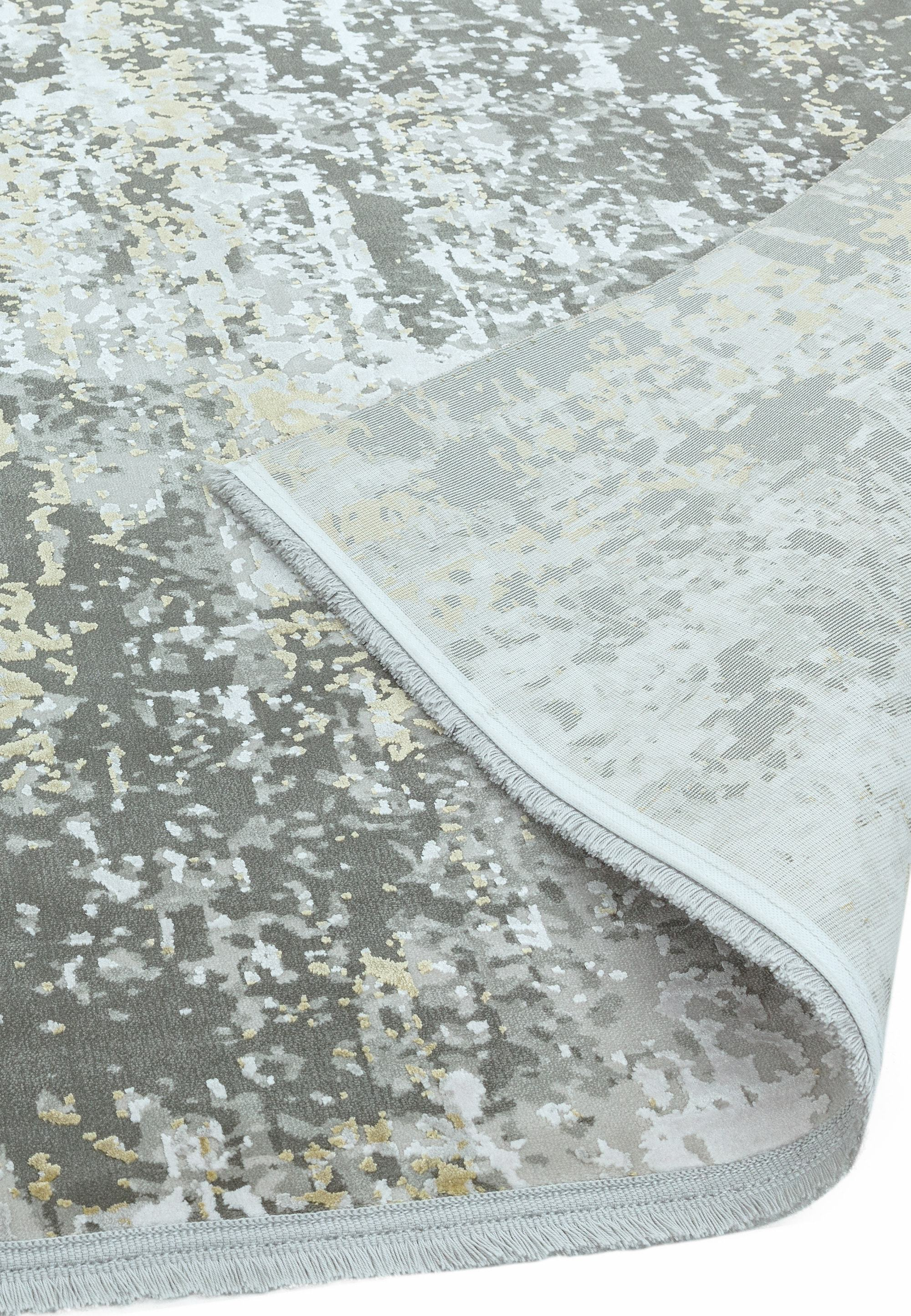 Olympia Rug OL06 Grey Green Abstract