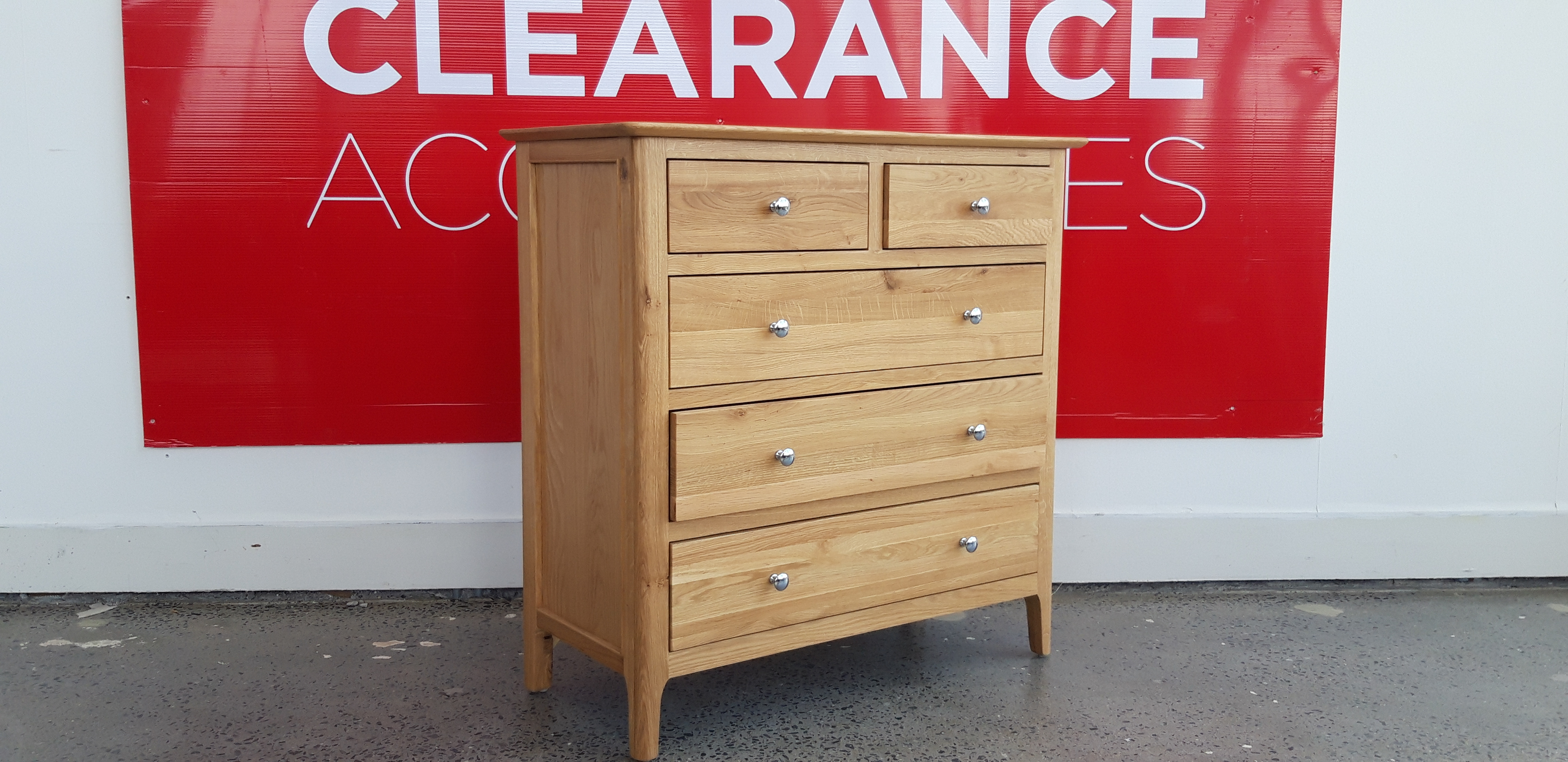 Clara 2+3 Chest of Drawers - OUTLET