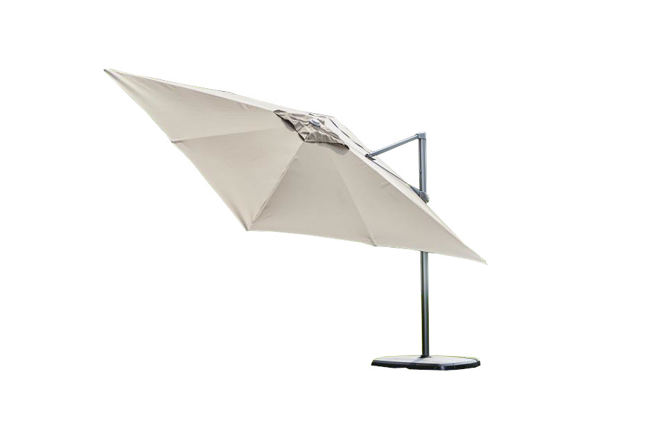 Provence Deluxe Parasol - Taupe