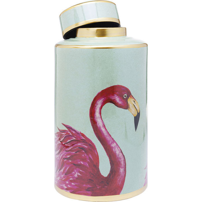 Fab Flamingo Jar