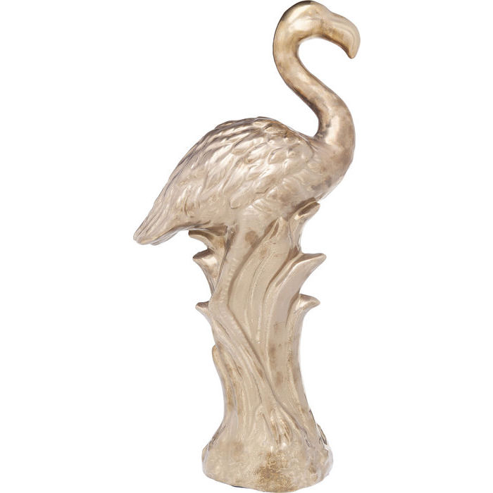 Gold Flamingo Figurine
