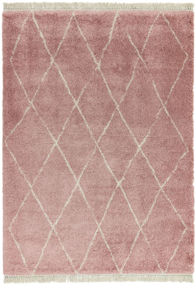 Rocco Rug RC09 PINK DIAMOND