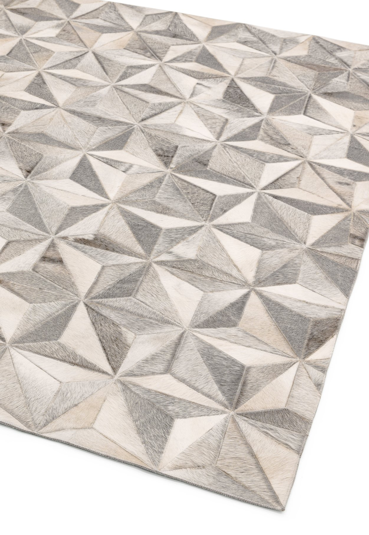 Gaucho Rug Facet Grey