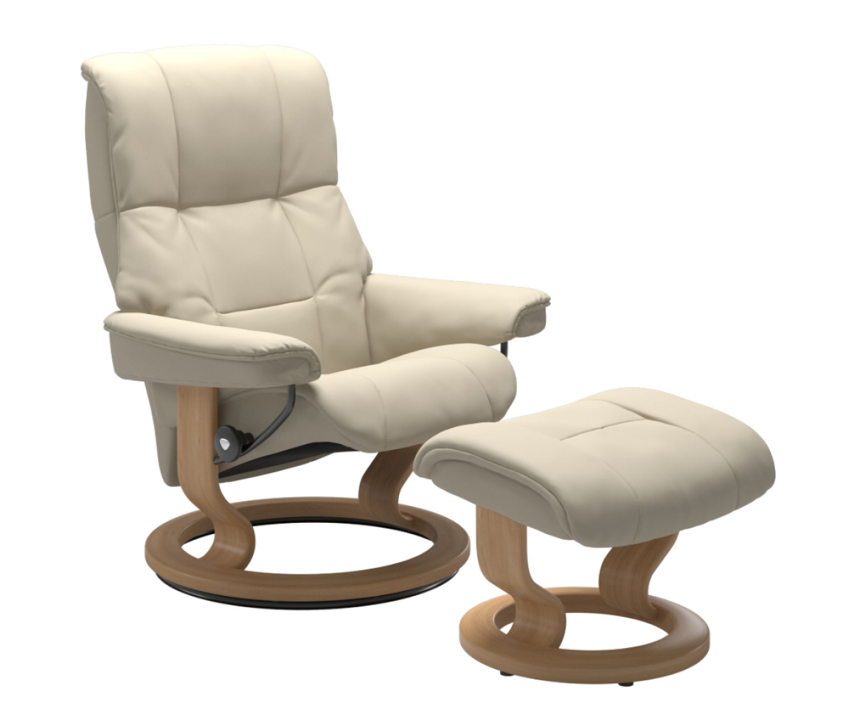 Stressless Mayfair Cream Medium Recliner