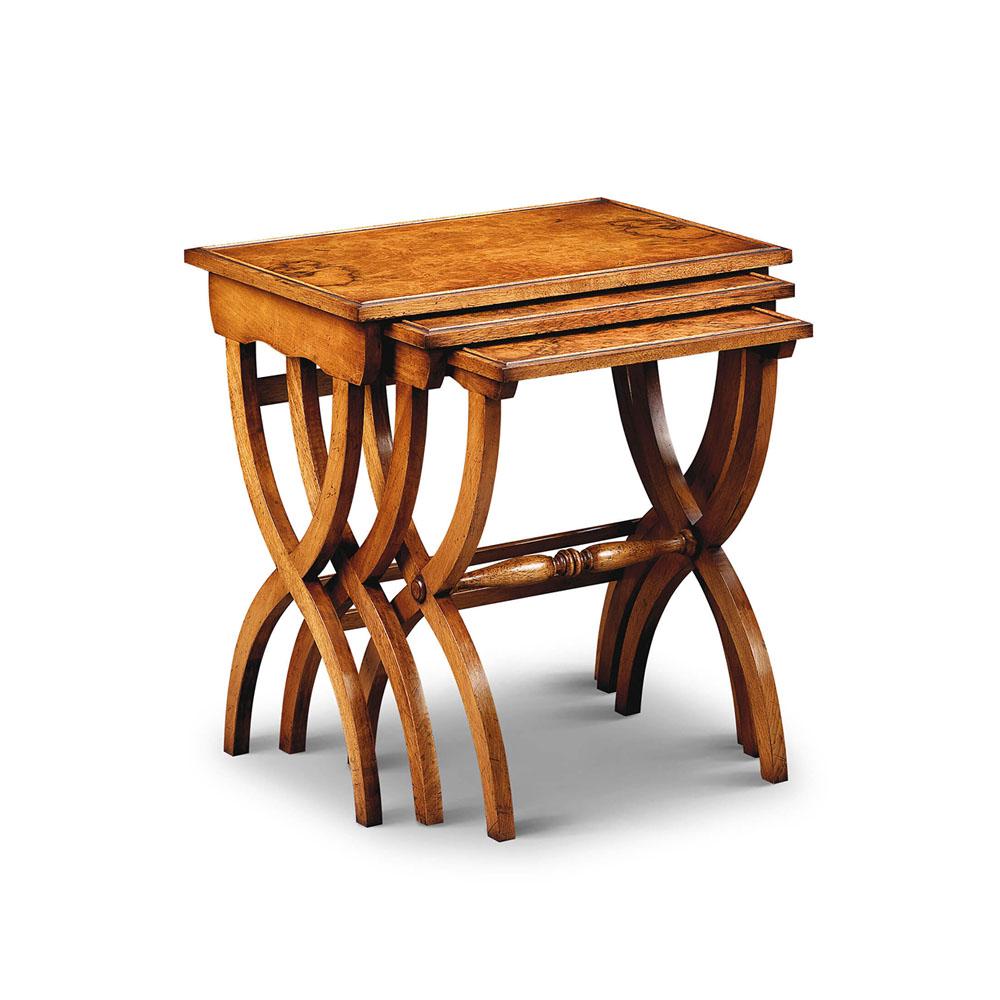 Vintage Scissor Leg Nest of tables