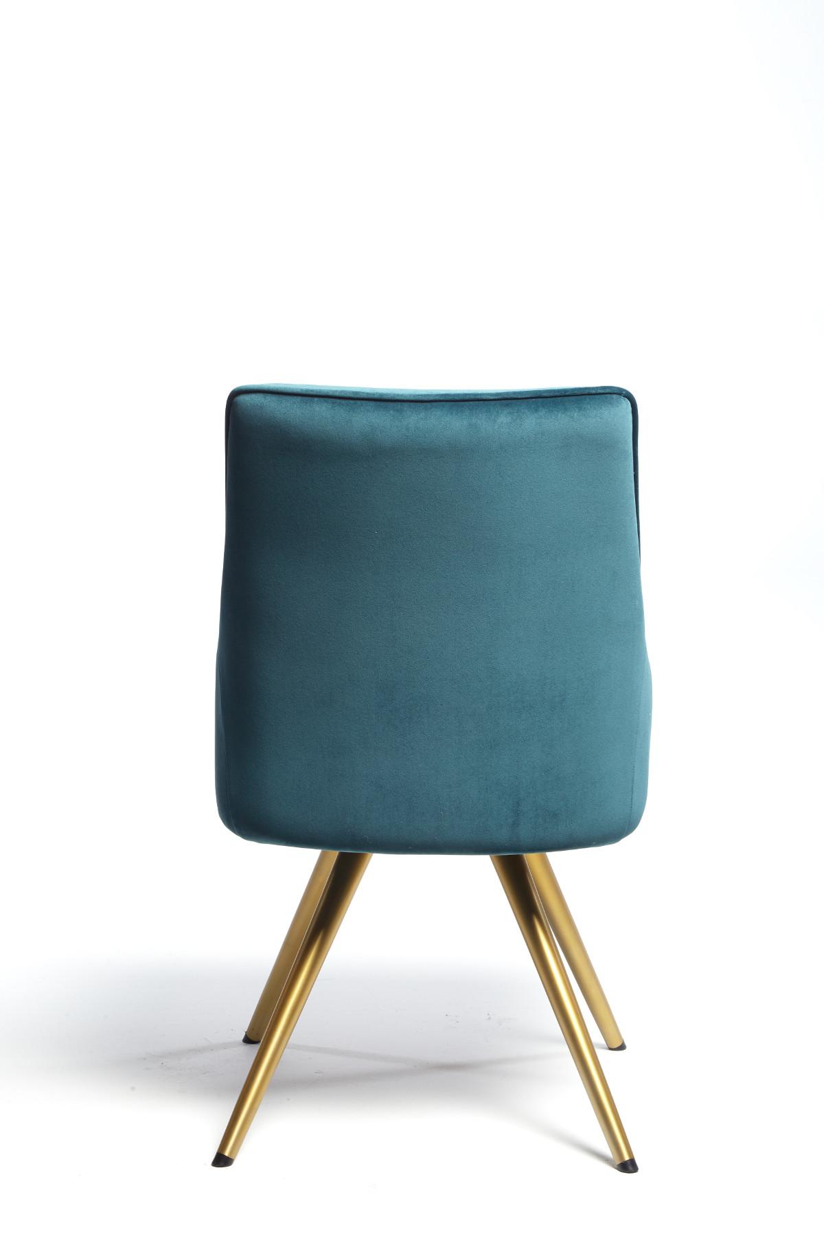 Aisling Dining Chair - Teal Velvet