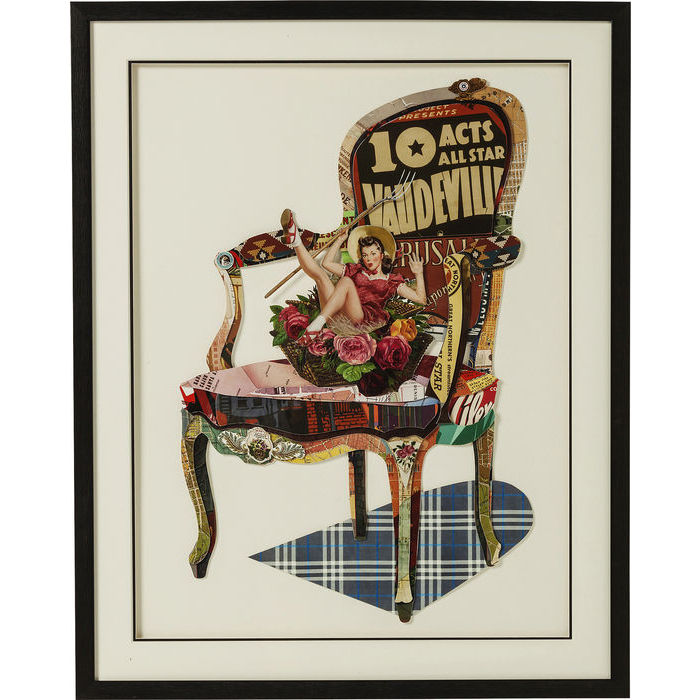 Frame Art Chair Pin Up