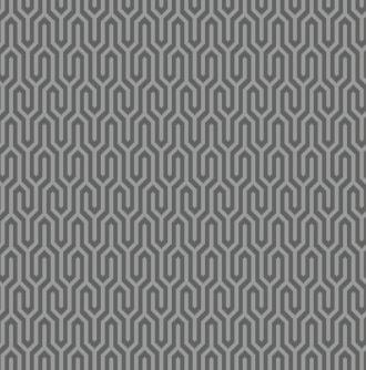 Silver Cloud - Geometric