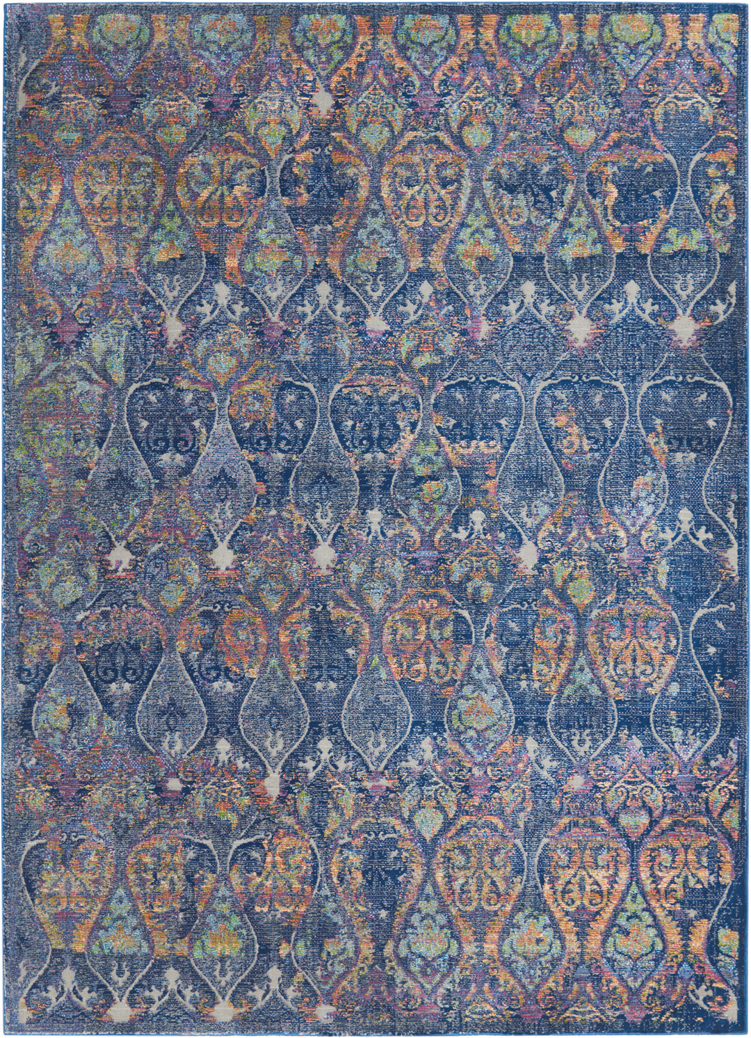 Ankara Global Rug ANR08 Navy Multicolor