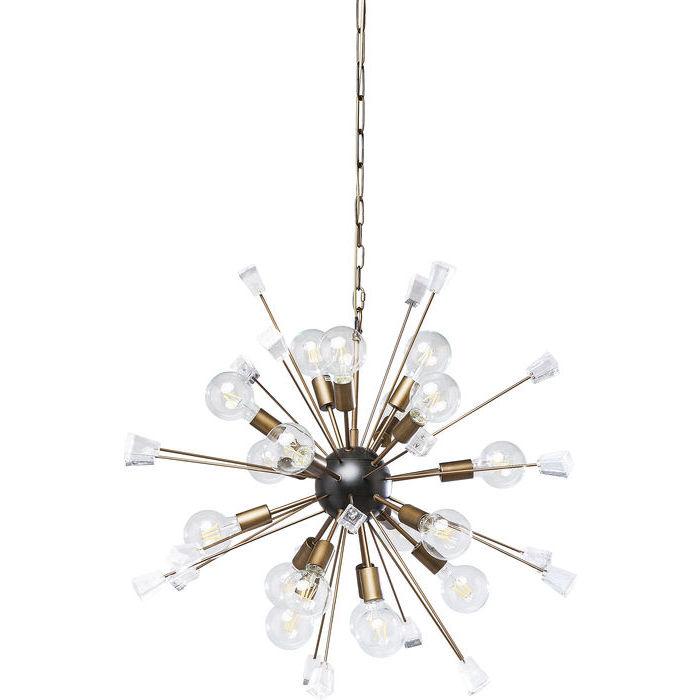 Crystal Bomb Pendant Lamp