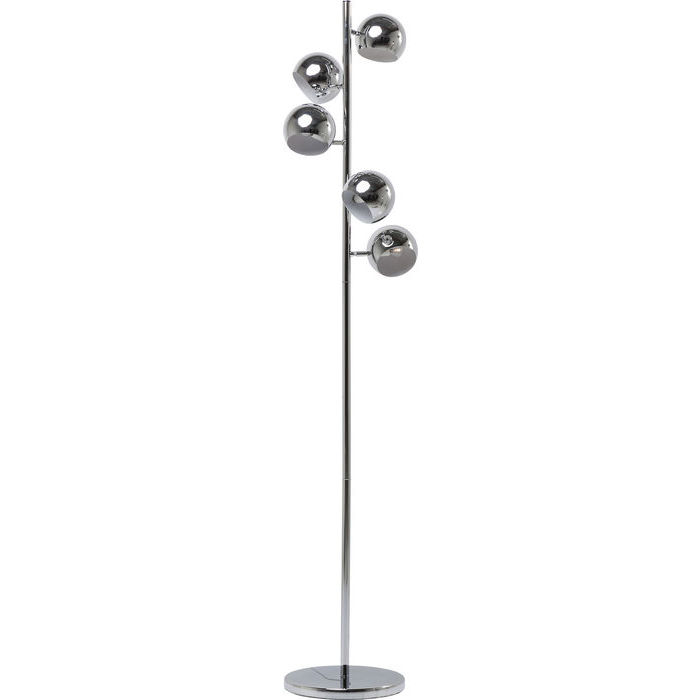 Carlotta Chrome Floor Lamp