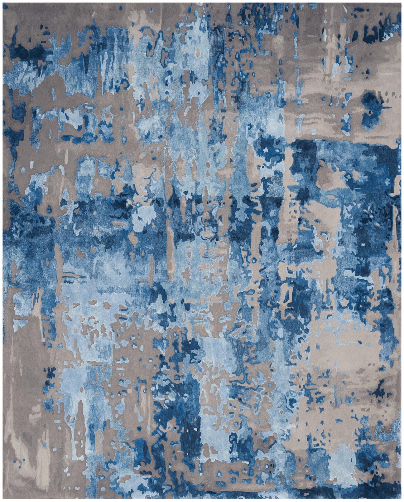 Prismatic Rug PRS10 Blue/Grey