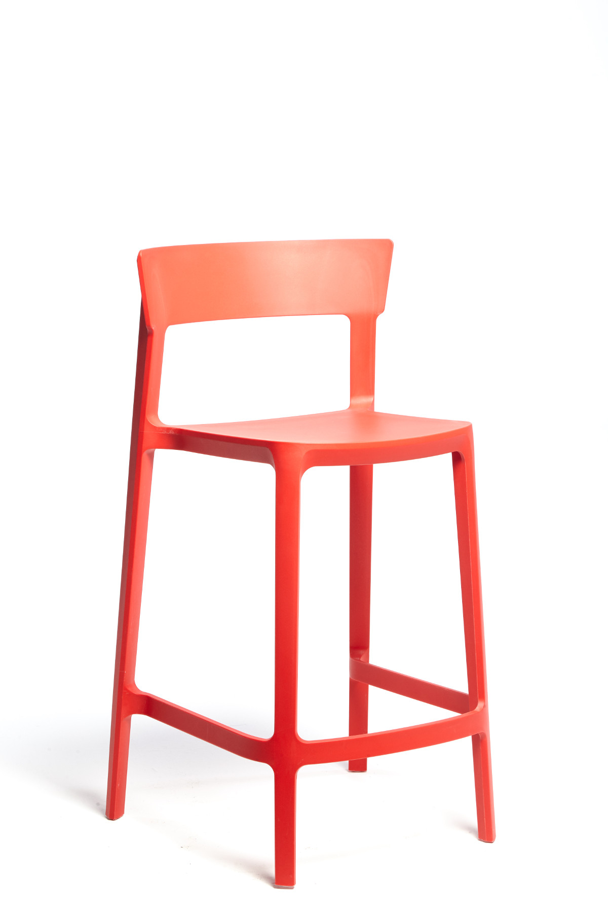 Calligaris Red Skin Stool