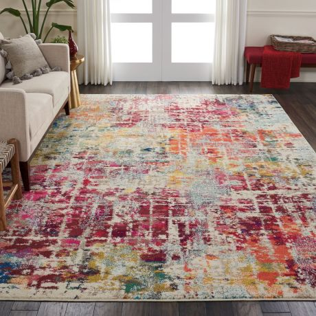 Celestial Rug CES13 Pink/Multi