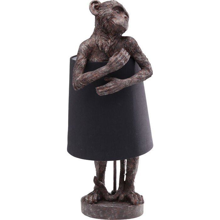 Table Lamp Monkey Brown