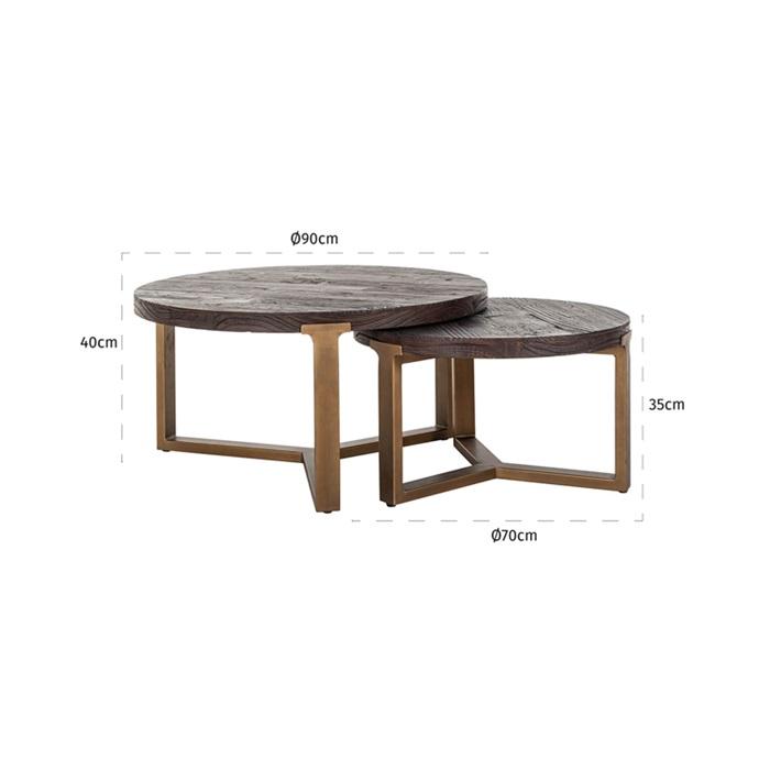 Cromford Mill Coffee Table
