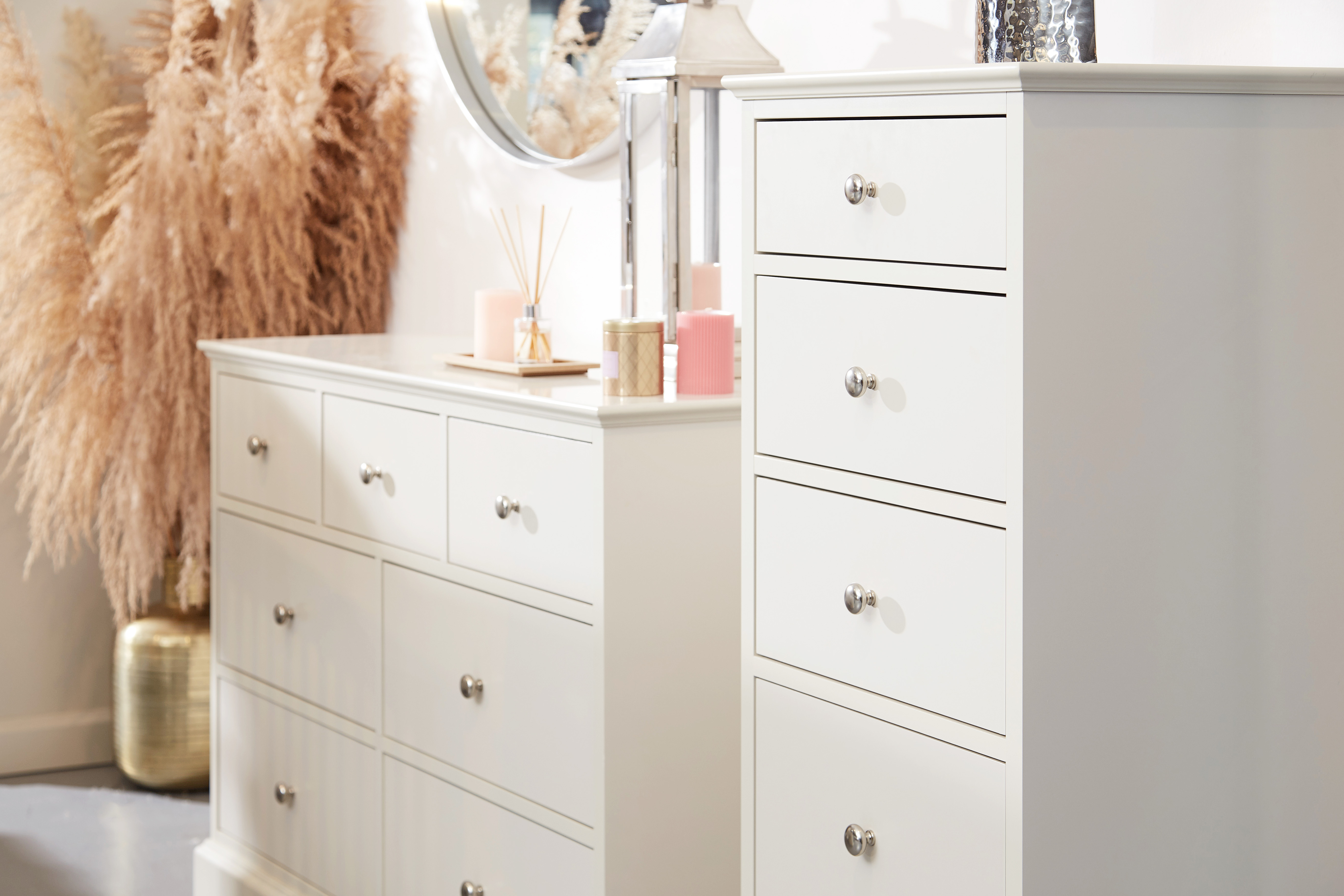 Caoimhe 3 + 4 Drawer Chest of Drawers