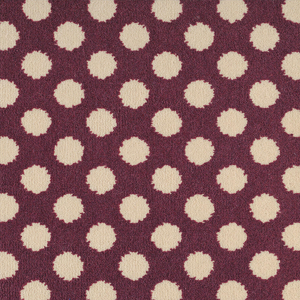 Quirky Spotty - Damson 7141