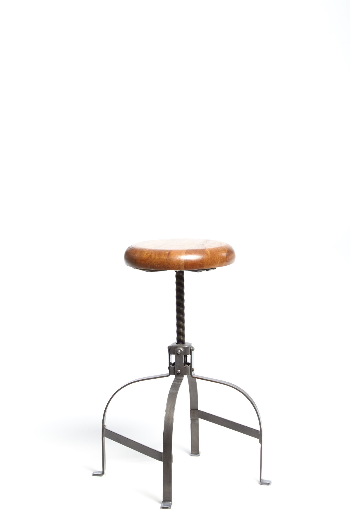 Reclaimed Screw Stool