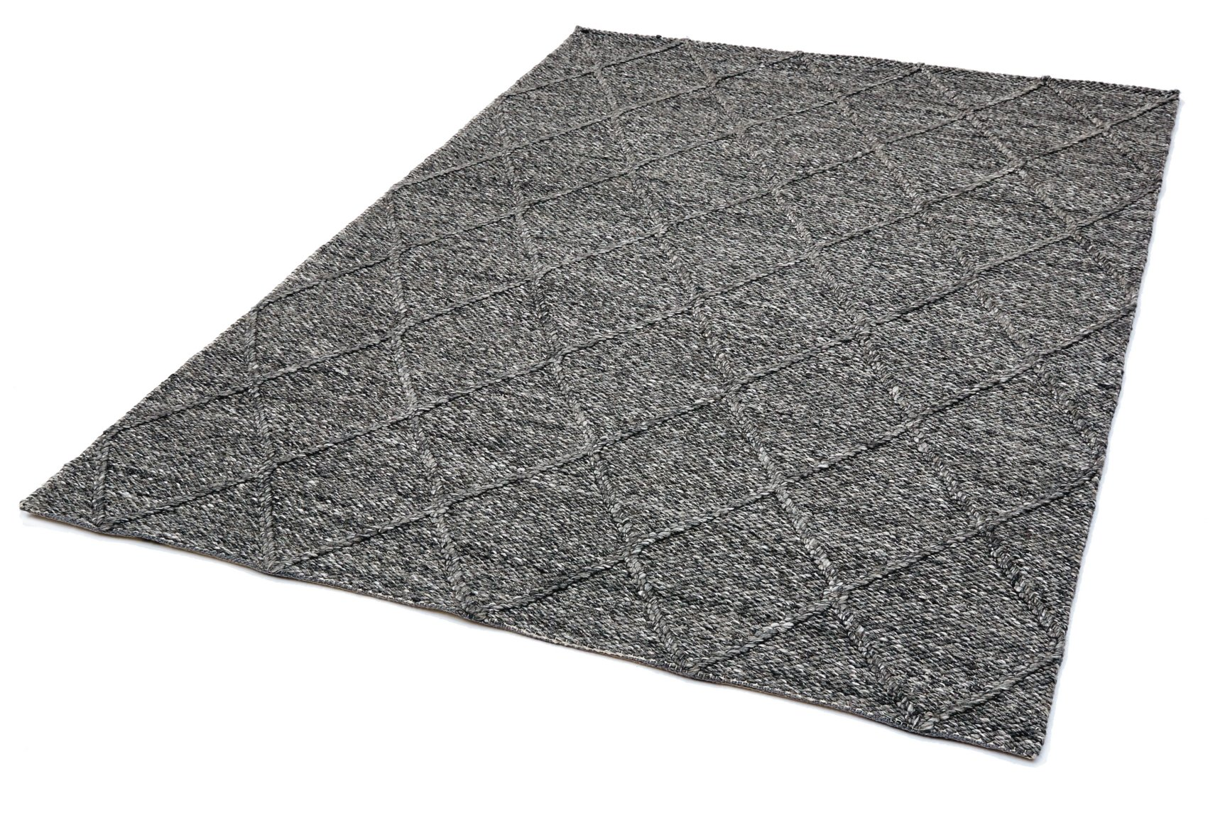 Coast Diamond Rug 01 Charcoal