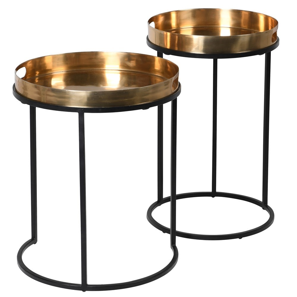 Brass Nest of Tables