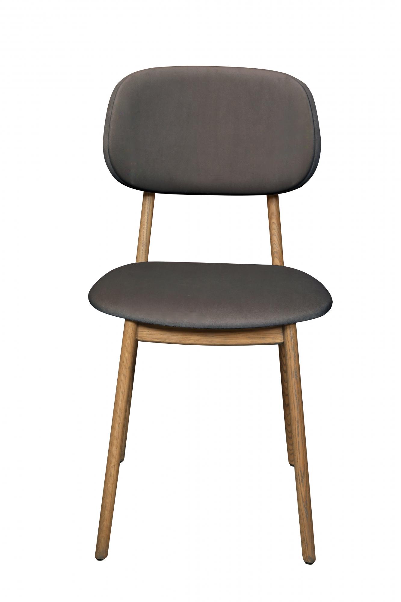 Hugo Granite Velvet Dining Chair