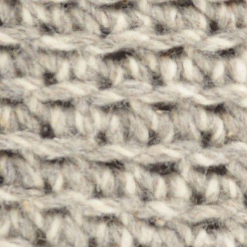 Nomad Knitted Stool Stone Grey