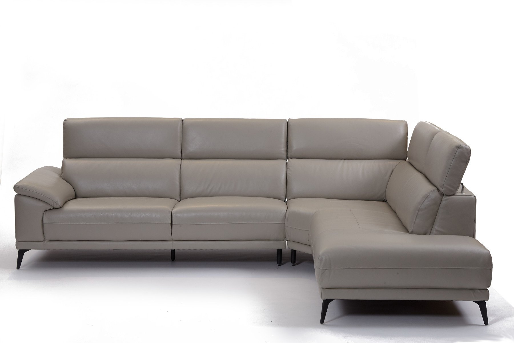 Montero RHF Corner Sofa - Leather