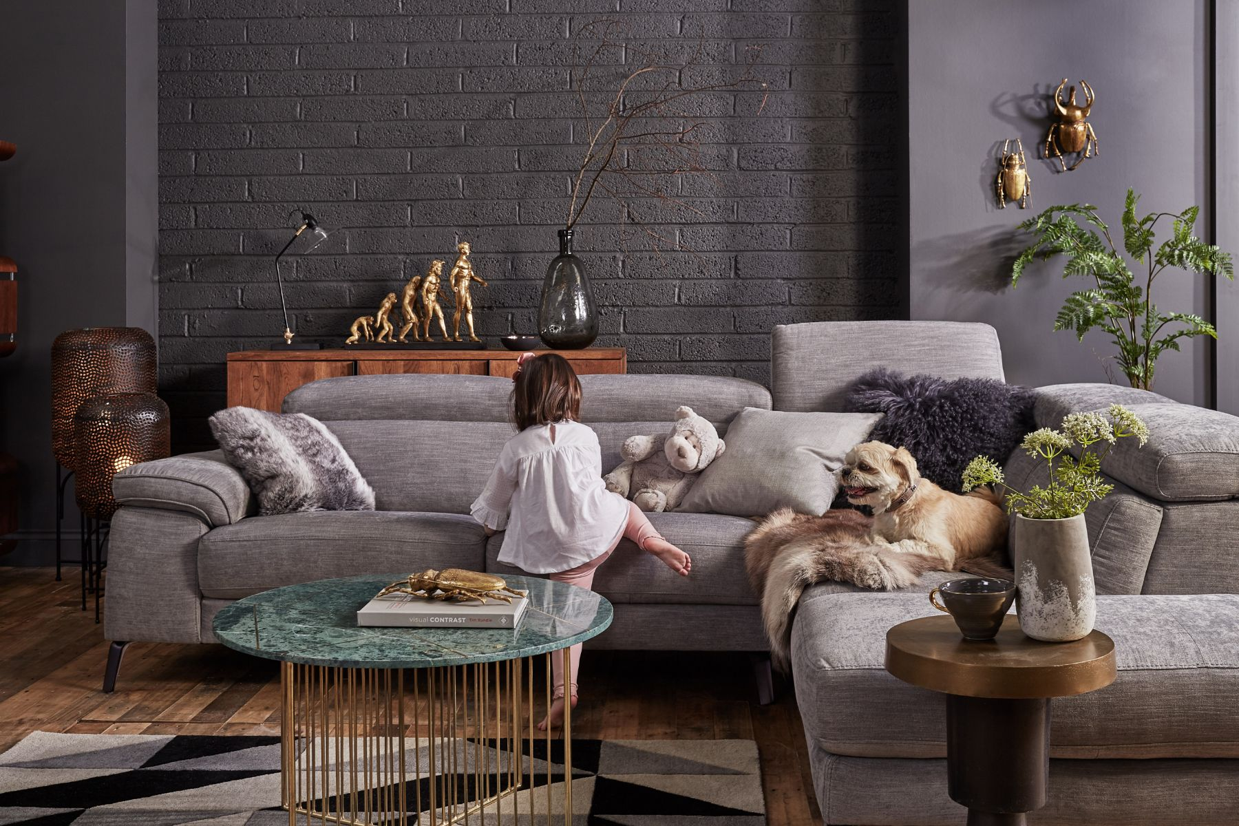 Fulton LHF Corner Sofa
