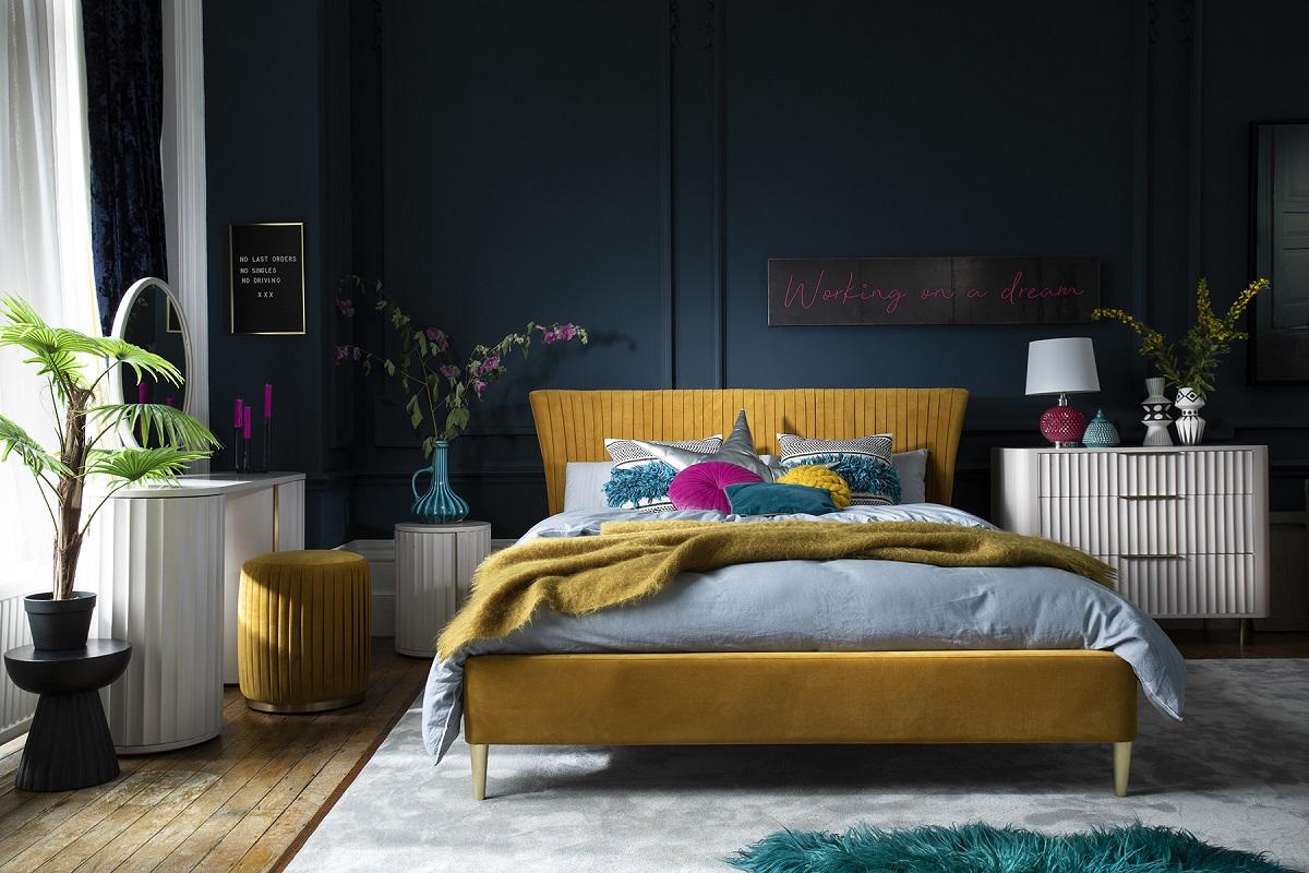 Primrose Yellow Bed Frame
