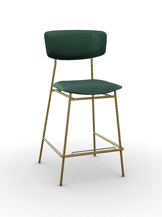Calligaris Fifties Upholstered Stool