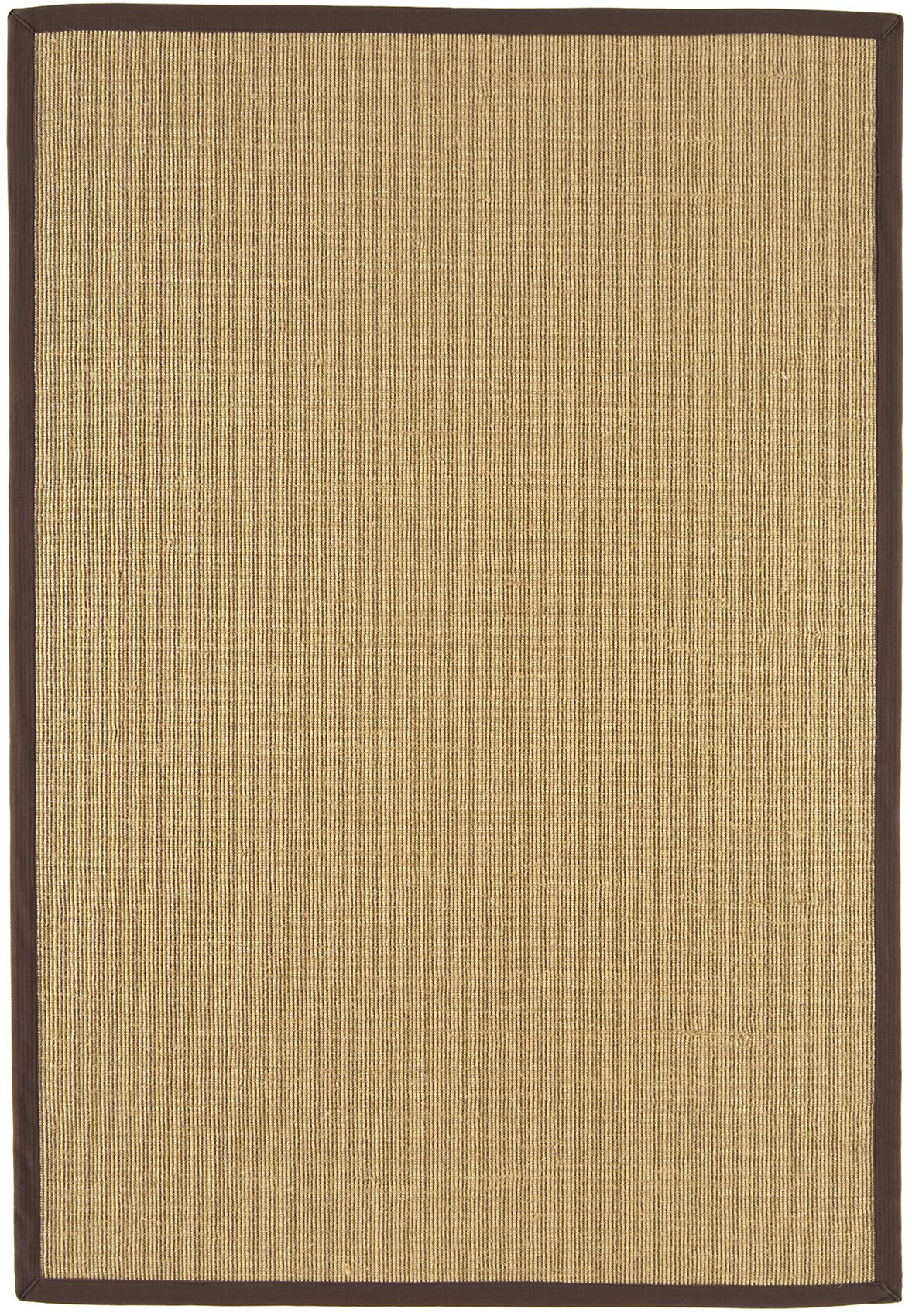 Sisal Rug Chocolate Linen