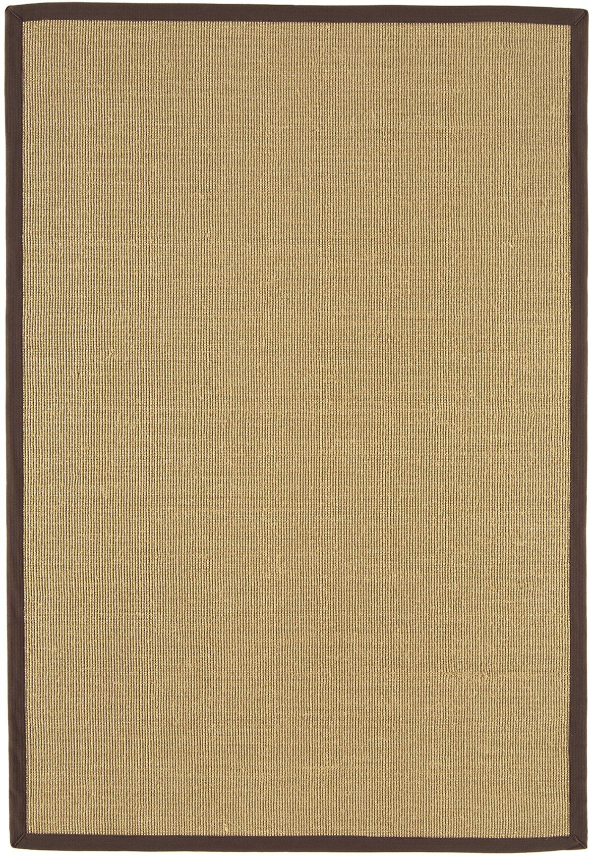 Sisal Rug Chocolate Linen