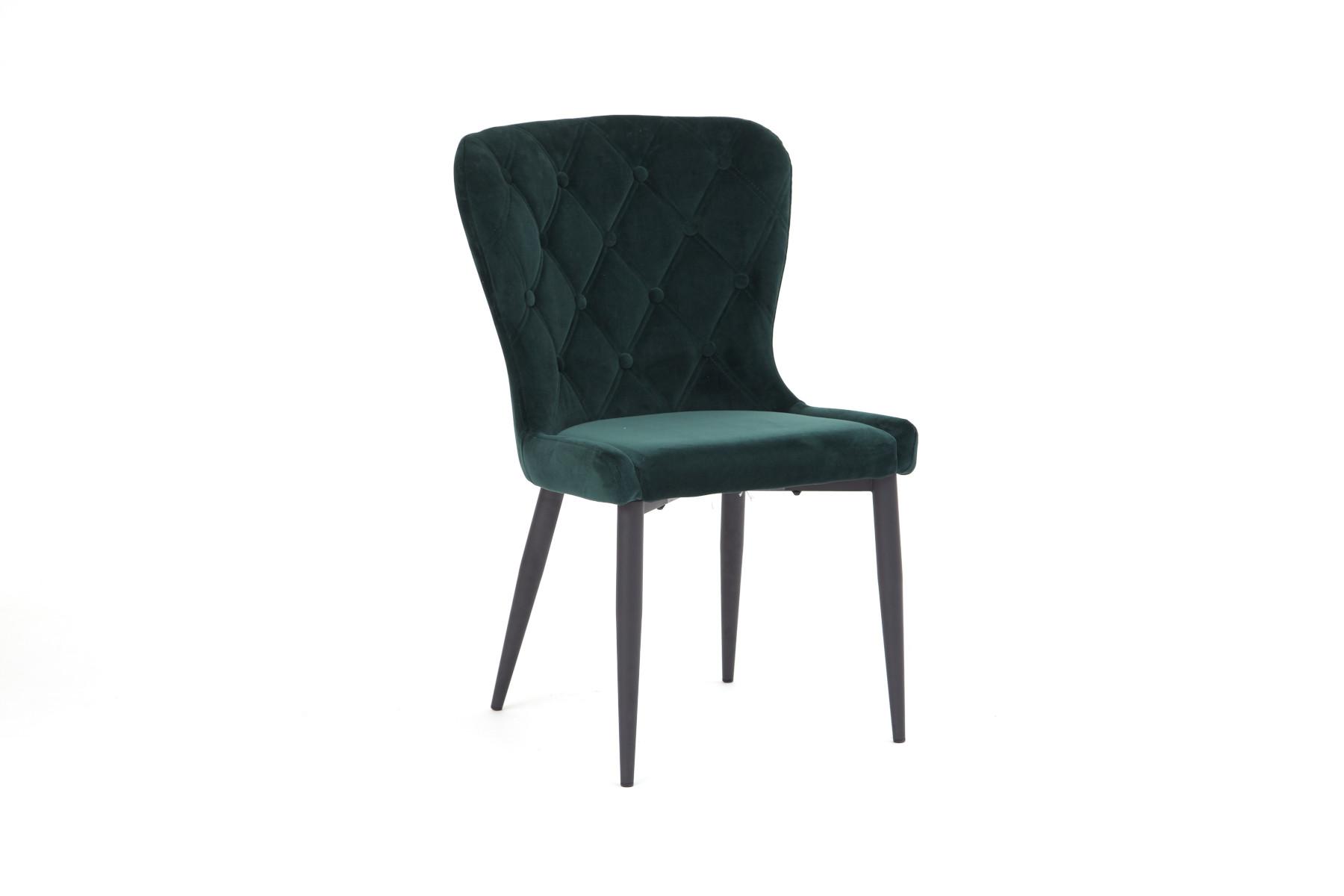 Erin Green Velvet Dining Chair