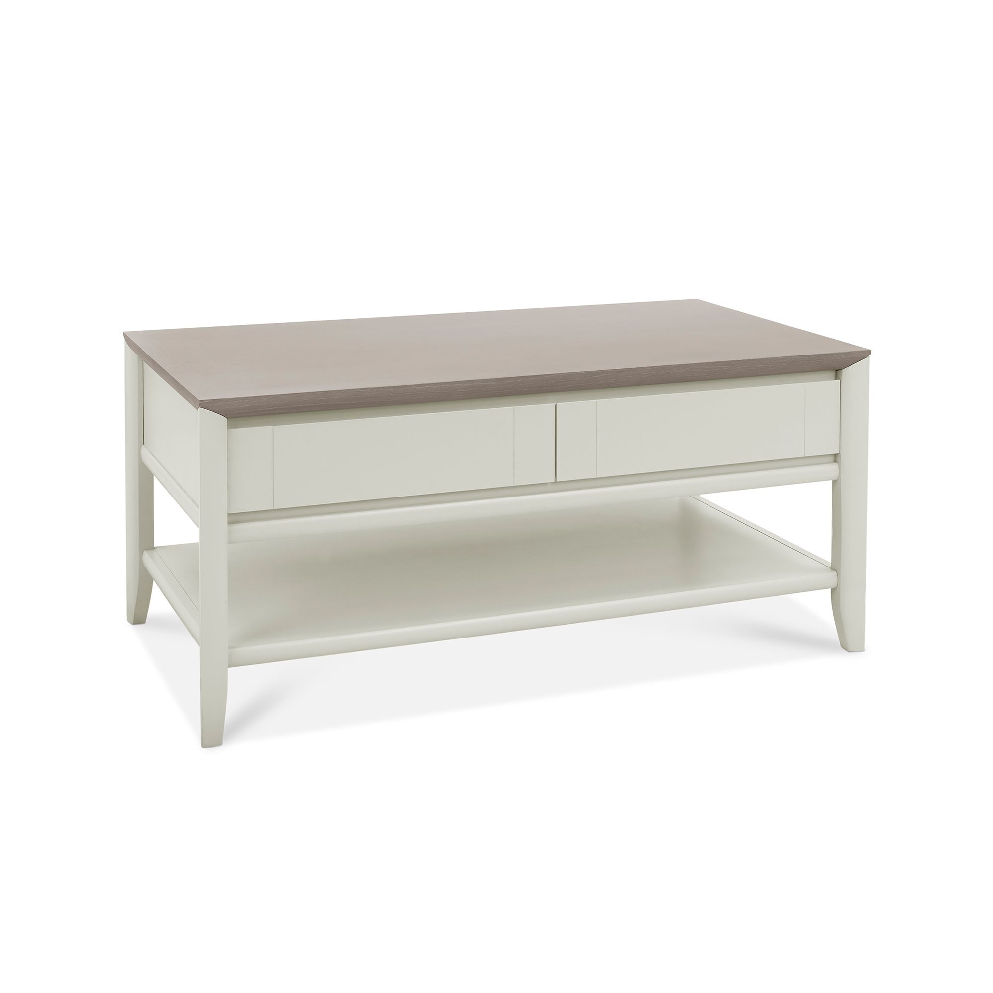 Oakley Grey Coffee Table with Drawer