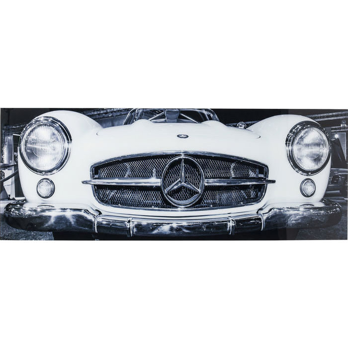 Oldtimer Picture Glass