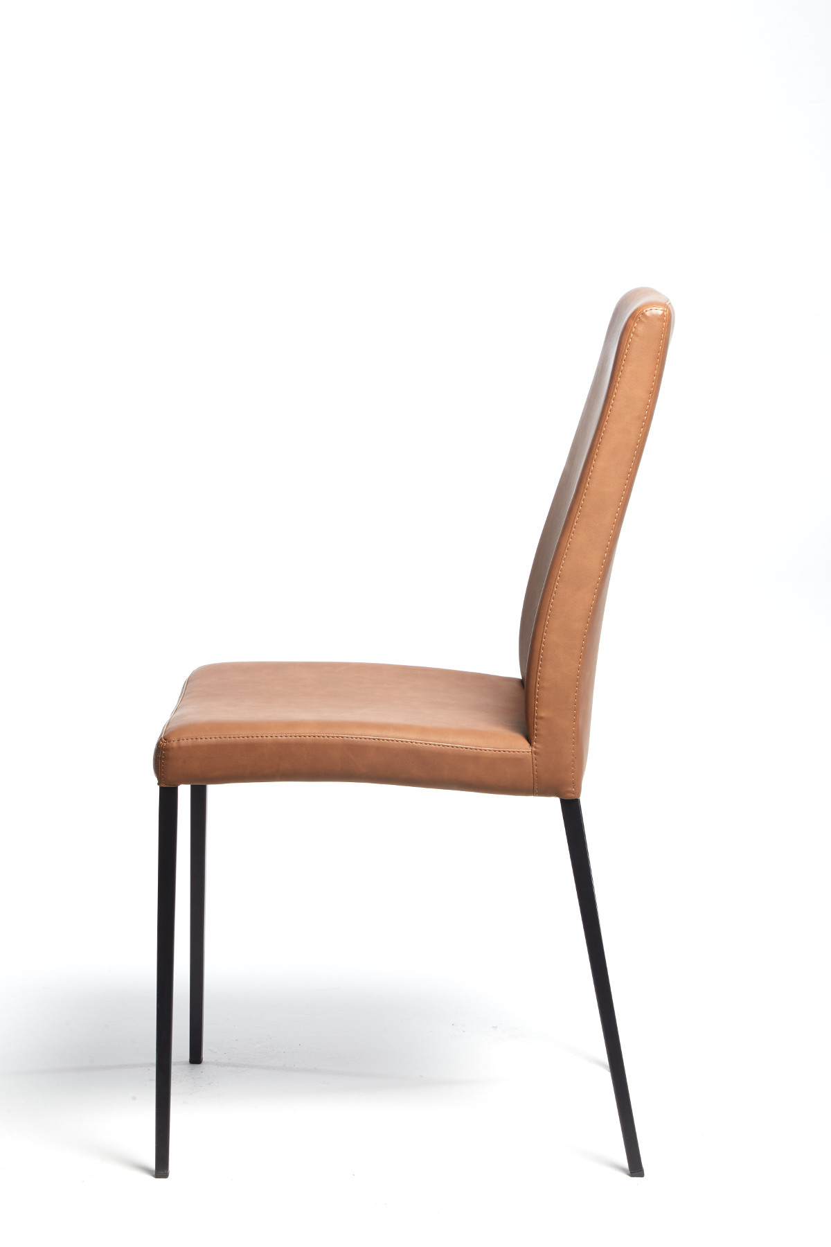 Calligaris Aida Soft Chair Vintage Tobacco