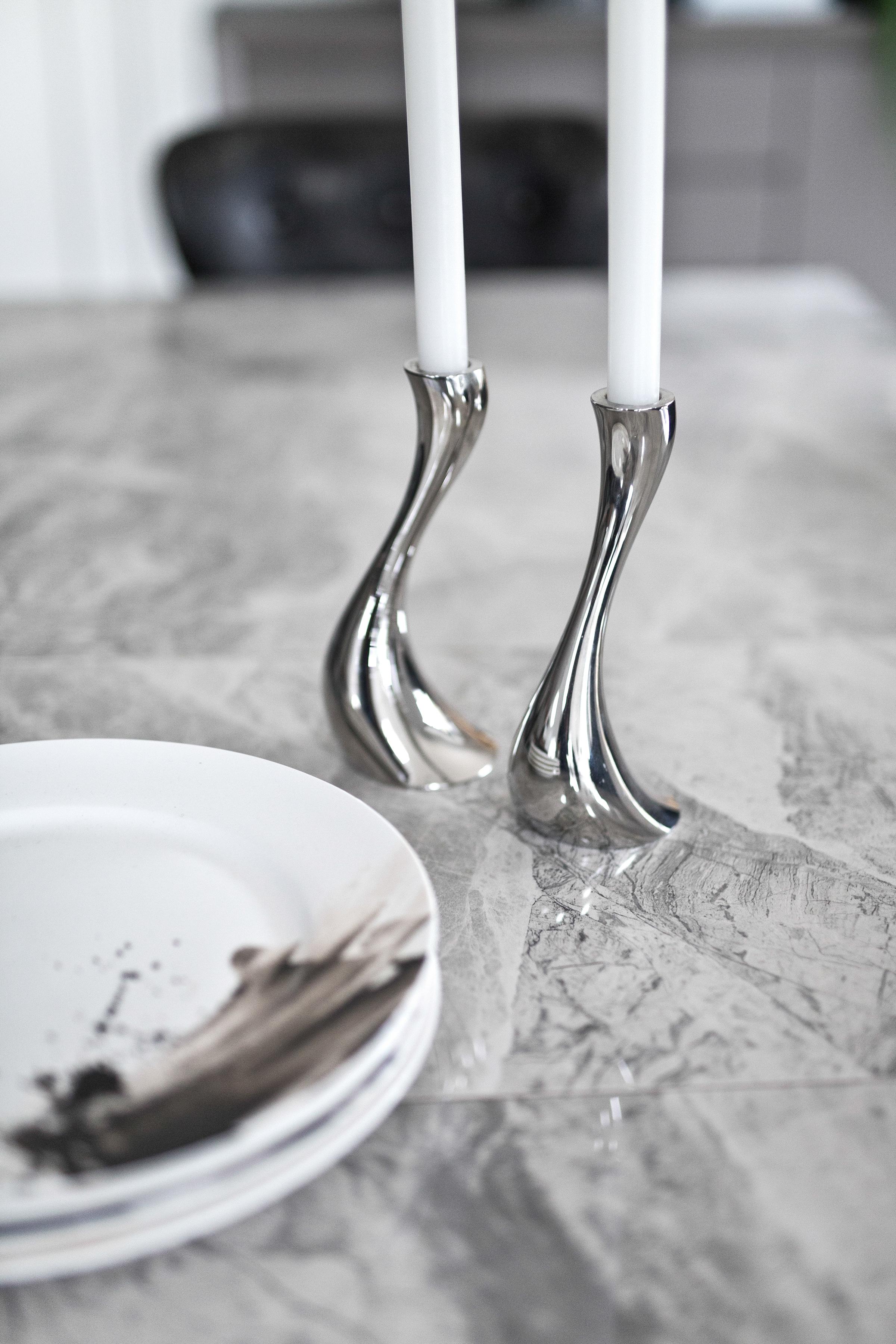 Monterrey Extending Dining Table - Light Grey