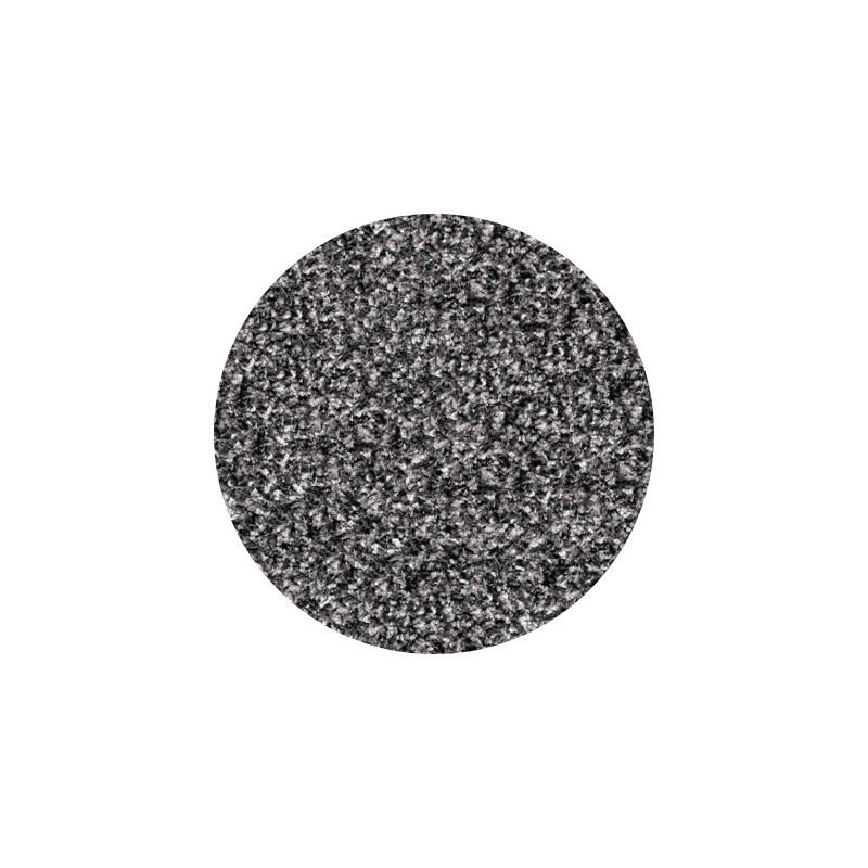 Twilight Circle Rug Silver Grey